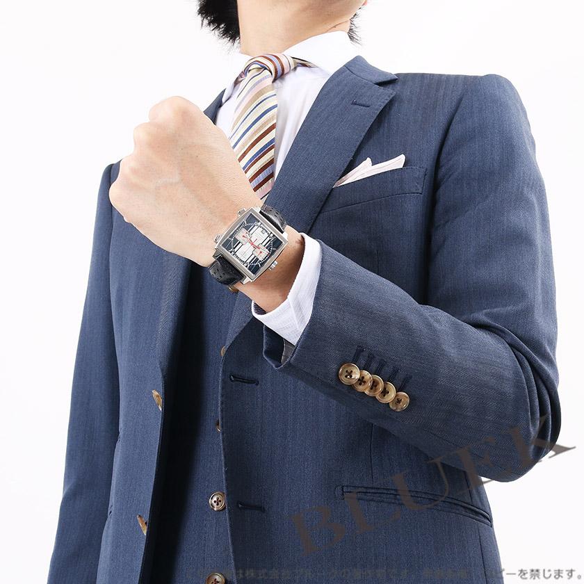 Rakuten Japan sale ★ Tag Heuer Monaco automatic chronograph Steve Mac Vienna model blue & white men's CAW211D... FC6300