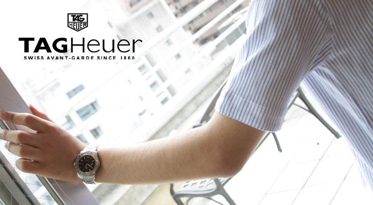 Tag Heuer Aquaracer 300 m water resistant alarm black mens WAF111Z... BA0801