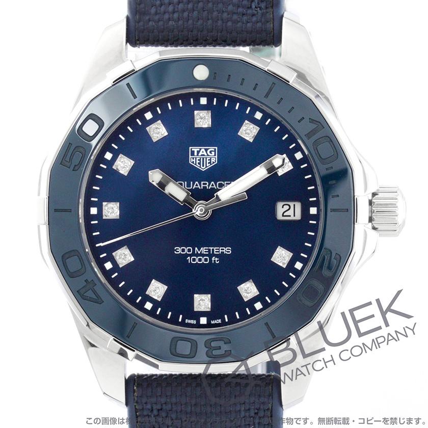 タグホイヤー アクアレーサー 300m防水 ダイヤ 腕時計 レディース TAG Heuer WAY131L FT60915LAj34R