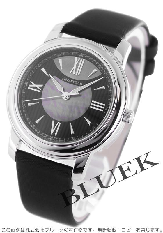 ティファニー マーク サテンレザー 腕時計 レディース TIFFANY Z0046.17.10A90A40A
