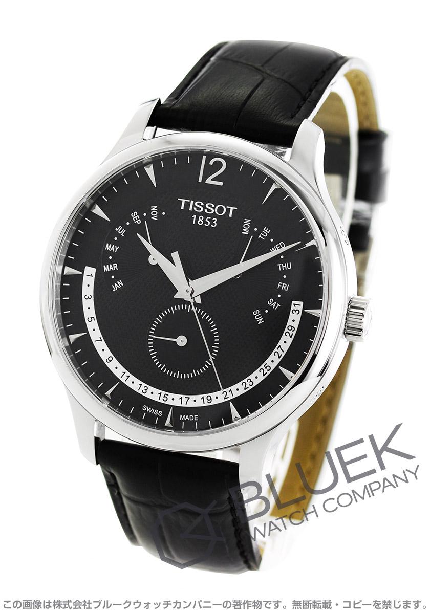 ティソ T-クラシック トラディション パーペチュアルカレンダー 腕時計 メンズ TISSOT T063.637.16.057.00