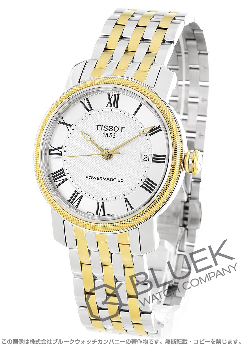 ティソ T-クラシック ブリッジポート 腕時計 メンズ TISSOT T097.407.22.033.00