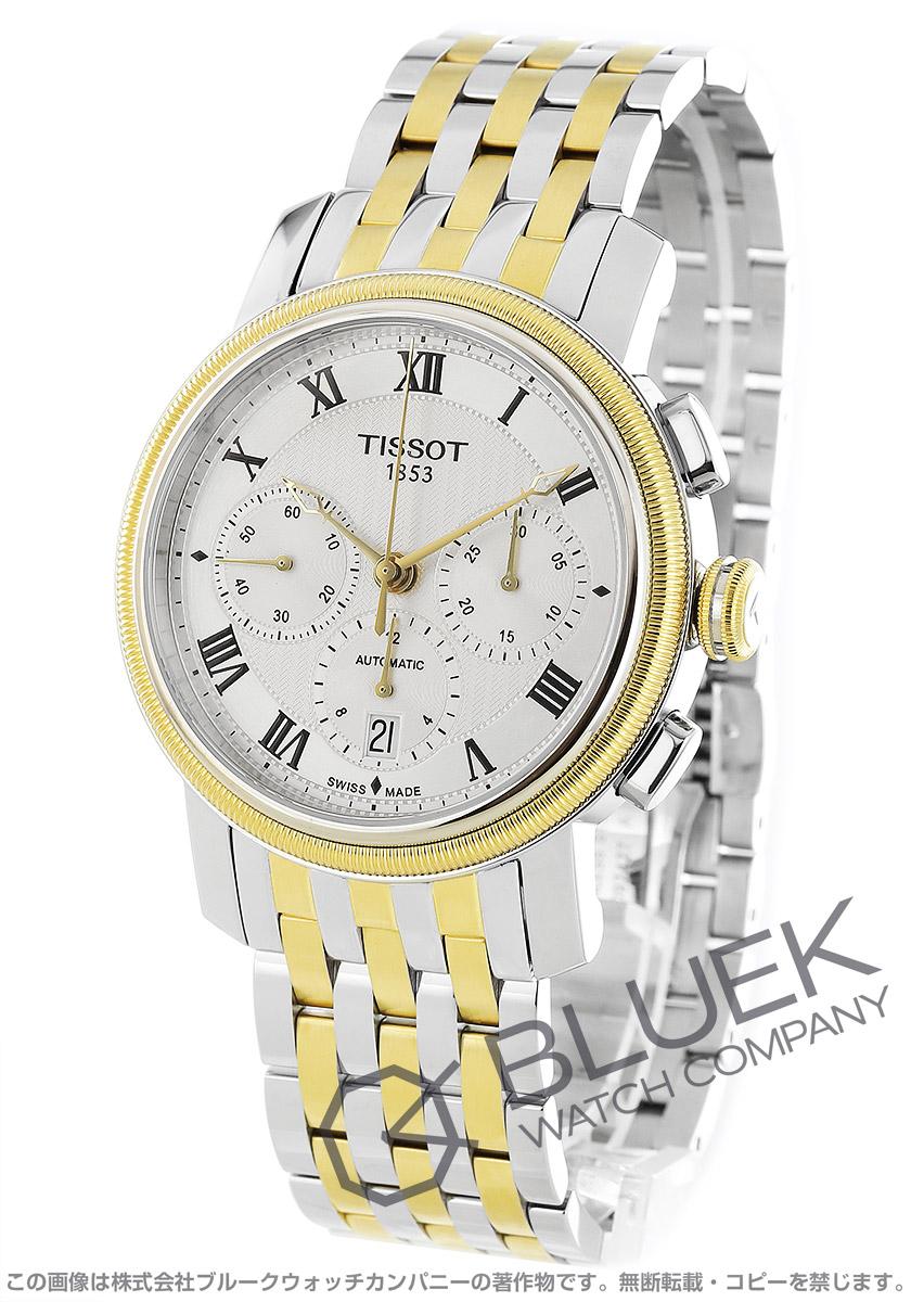 ティソ T-クラシック ブリッジポート クロノグラフ 腕時計 メンズ TISSOT T097.427.22.033.00