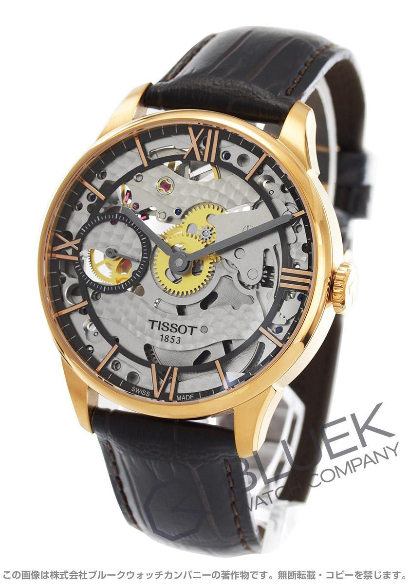 ティソ T-クラシック T-コンプリケーション シュマン・デ・トゥレル スケレット 腕時計 メンズ TISSOT T099.405.36.418.00