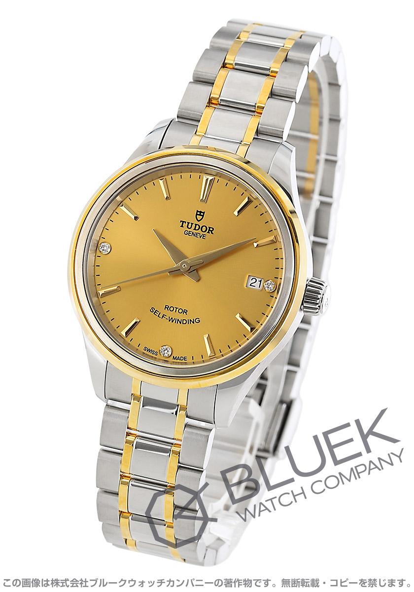 【6,000円OFFクーポン対象】チューダー スタイル ダイヤ 腕時計 ユニセックス TUDOR 12303