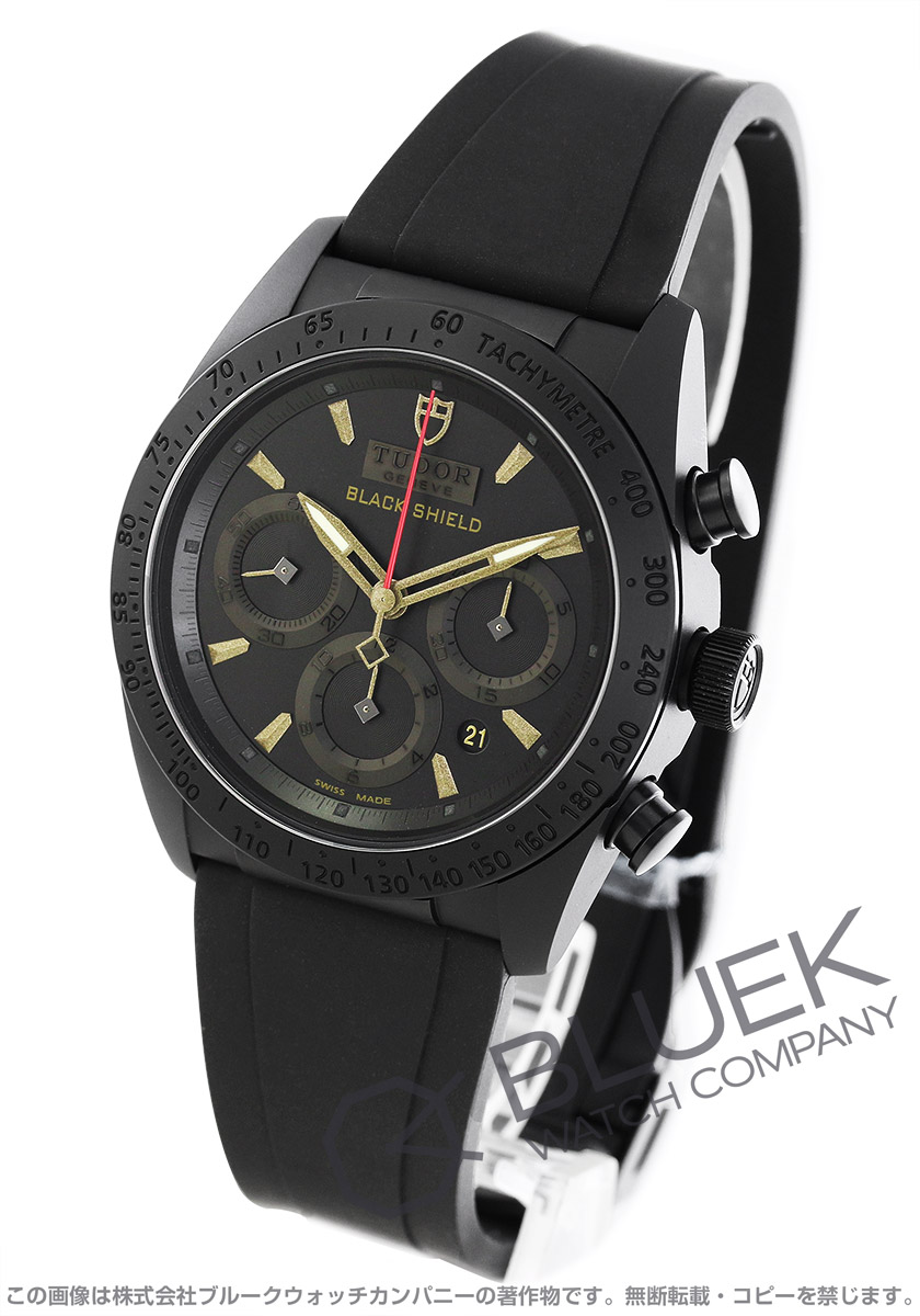 【6,000円OFFクーポン対象】チューダー ファストライダー ブラックシールド クロノグラフ 腕時計 メンズ TUDOR 42000CN