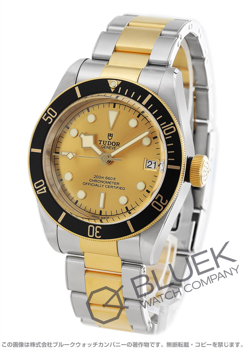 チューダー ヘリテージ ブラックベイ 腕時計 メンズ TUDOR 79733N