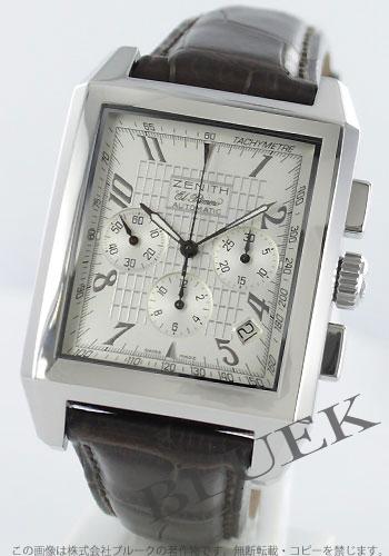 Zenith ZENITH El Primero port Royale alligator leather mens 03.0550.400/01.C491 watch clock