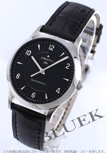 Zenith ZENITH elite alligator leather mens 03.1125.679/22.C490 watch clock