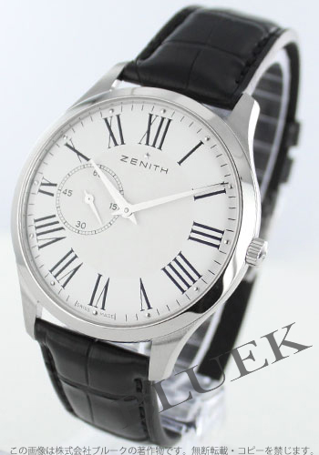 Zenith ZENITH elite ultra-thin alligator leather mens 03.2010.681/11.C493 watch clock