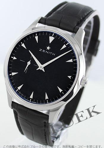 Zenith ZENITH elite ultra Shin alligator leather men 03.2010.681/21.C493 watch clock