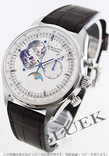 Zenith ZENITH L primero Kurono master alligator leather men 03.2160.4047/01.C713 watch clock
