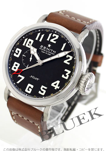 Zenith ZENITH pilot aeronef mens 03.2430.693/21.C723 watch clock