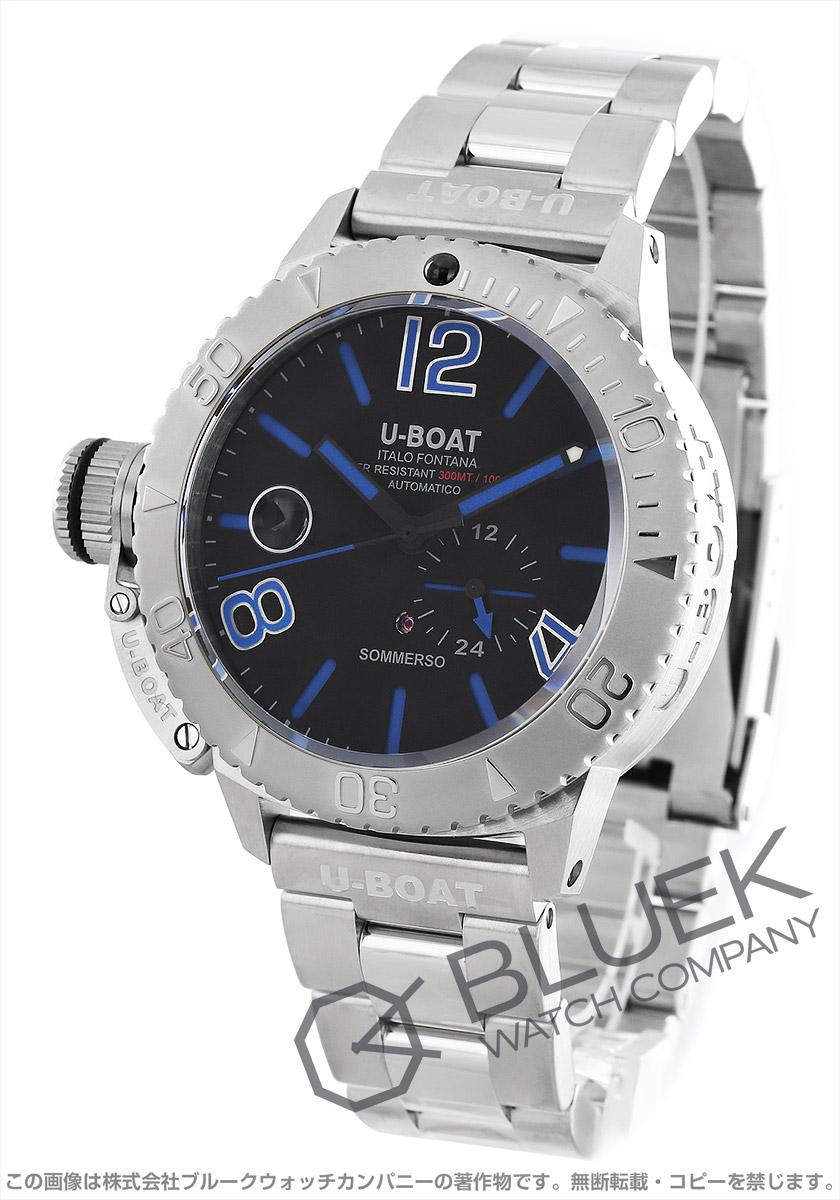 ユーボート クラシコ ソンメルソ ブルー 300m防水 腕時計 メンズ U-BOAT 9014M