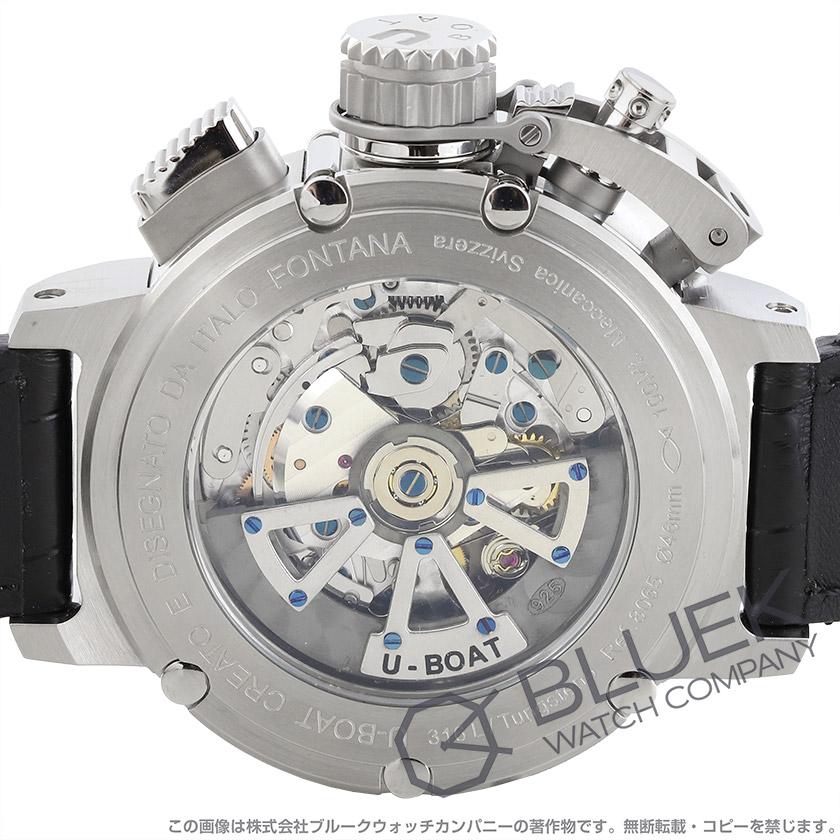ユーボート キメラ 46 世界限定999本 クロノグラフ アリゲーターレザー 腕時計 メンズ U-BOAT 8065