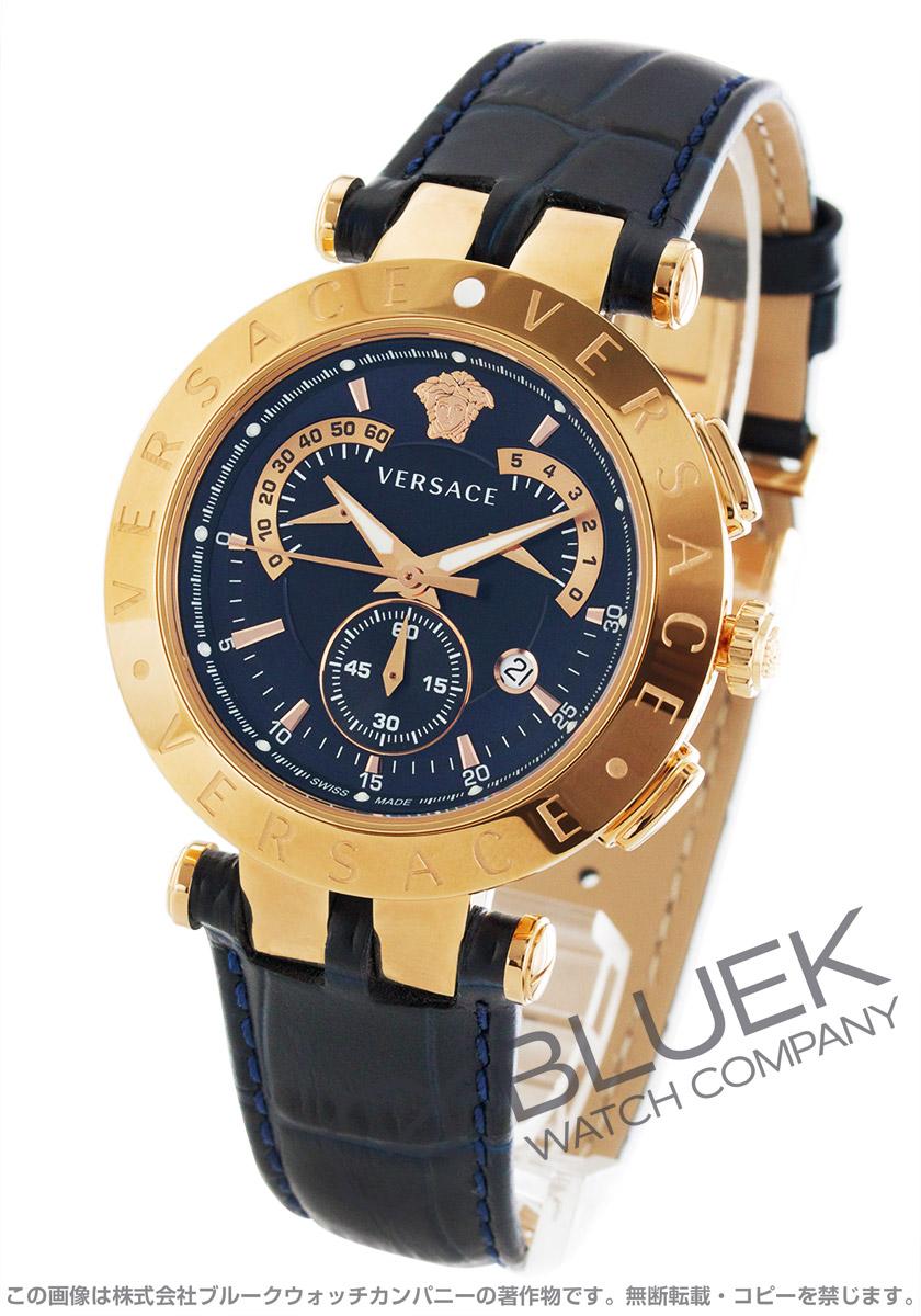 【最大3万円割引クーポン 11/01~】ヴェルサーチェ V-レース クロノグラフ レトログラード 替えベゼル付き 腕時計 メンズ VERSACE 23C80D282S282