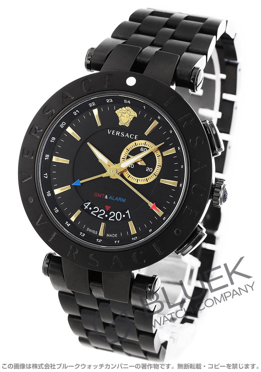 【スーパーセール】 ヴェルサーチ メンズ V-レース ヴェルサーチ GMT 腕時計 メンズ VERSACE 腕時計 29G60D009S060, 大畠町:b80c777e --- experiencesar.com.ar