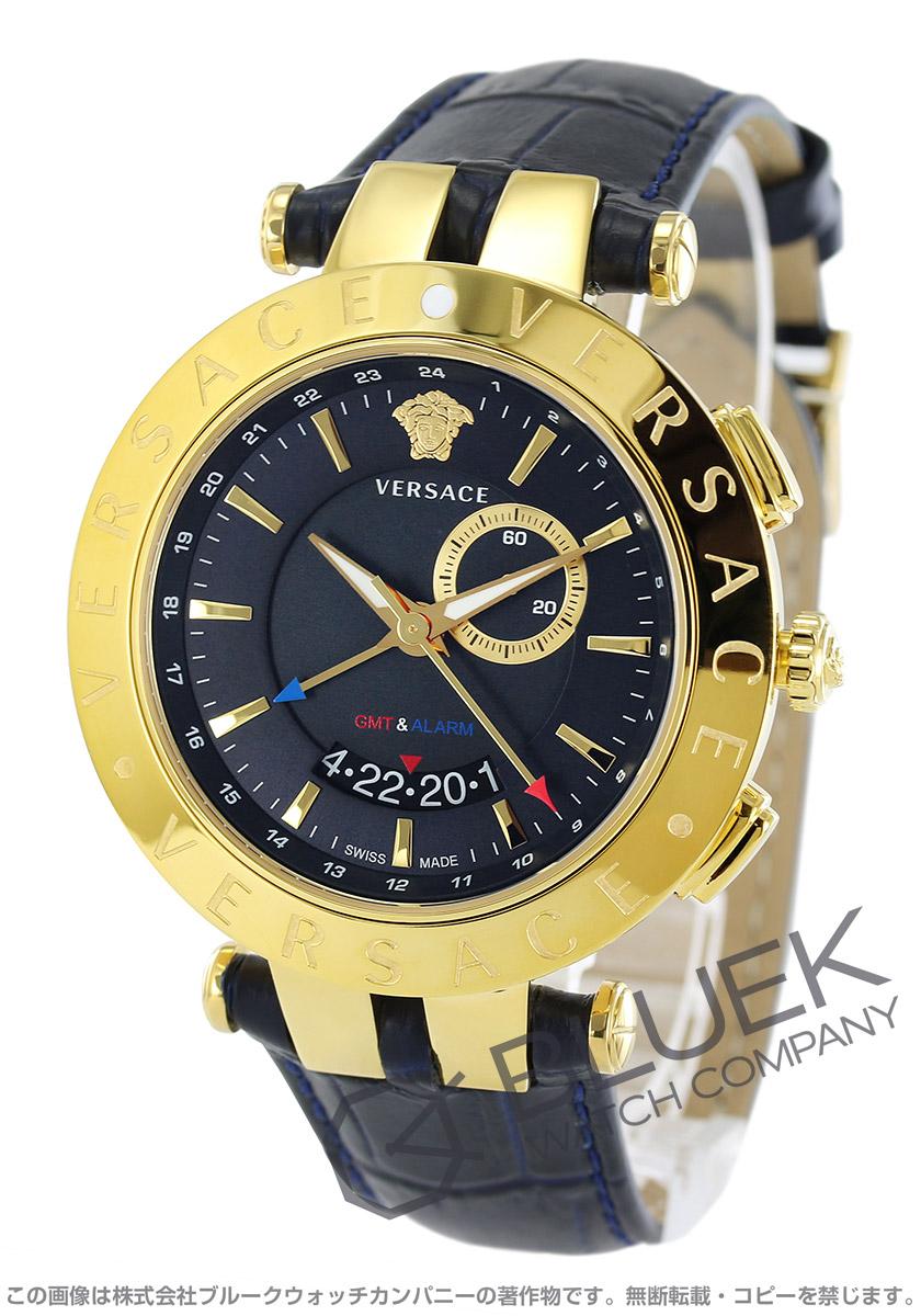 【1,000円OFFクーポン対象】ヴェルサーチェ V-レース GMT 腕時計 メンズ VERSACE 29G70D282S282