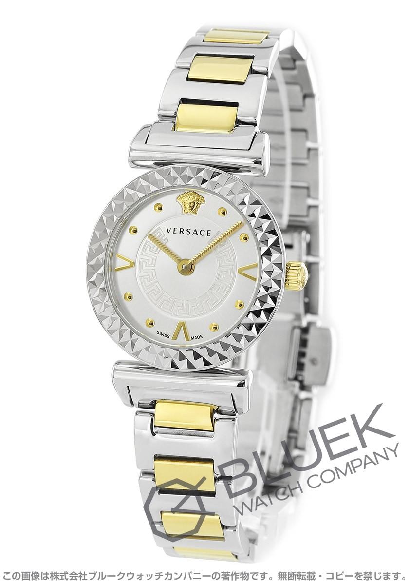 【1,000円OFFクーポン対象】ヴェルサーチ V-モチーフ 腕時計 レディース VERSACE AA00418