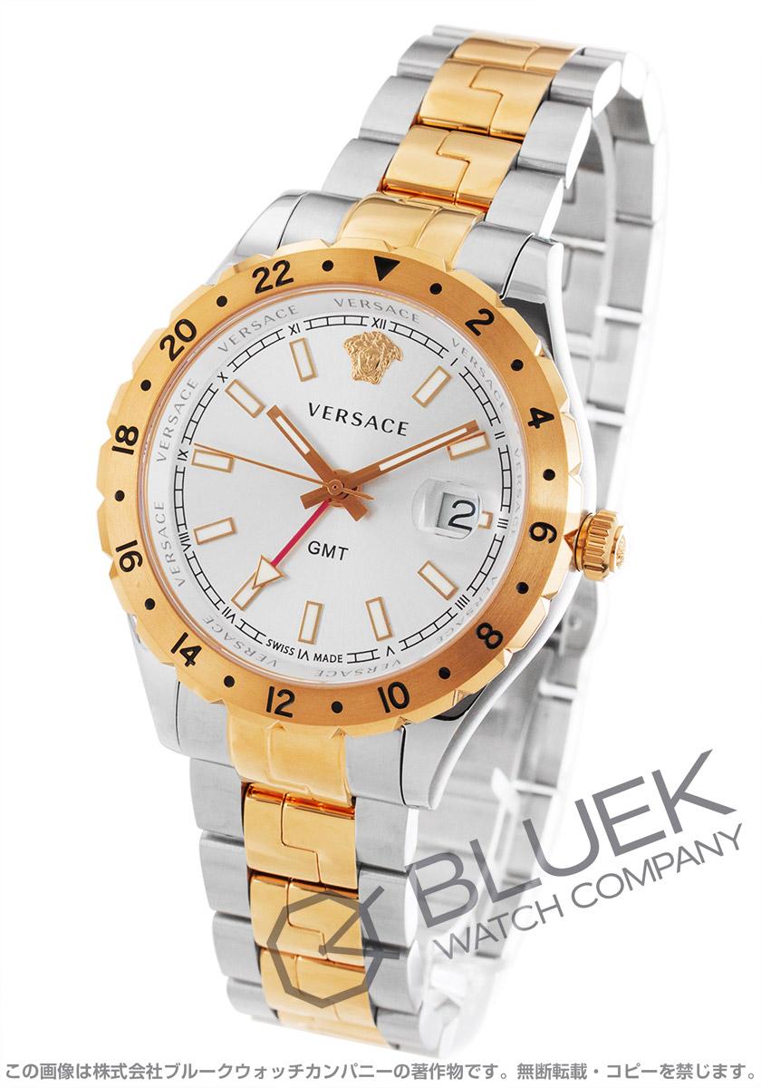 ヴェルサーチェ ヘレニウム GMT 腕時計 メンズ VERSACE V11030015