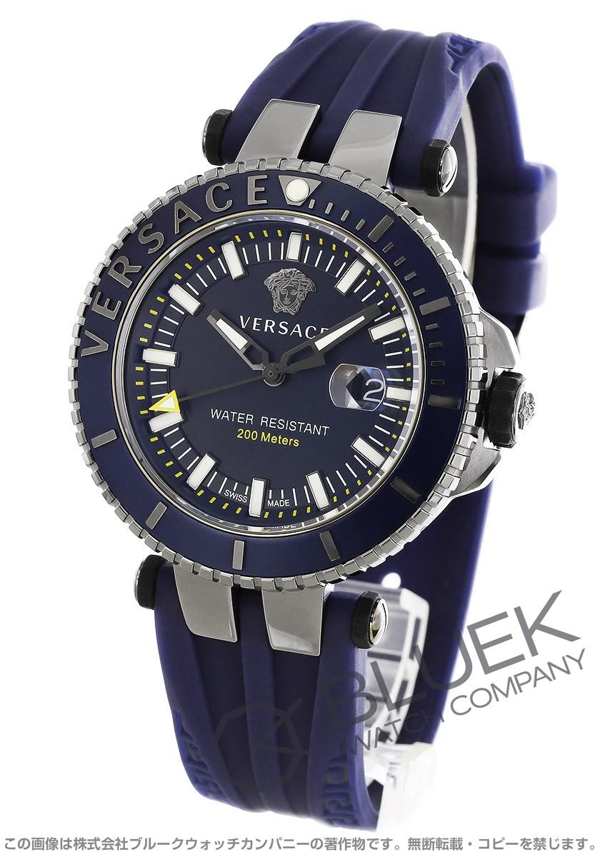 ヴェルサーチ V-レース ダイバー 腕時計 メンズ VERSACE VAK020016