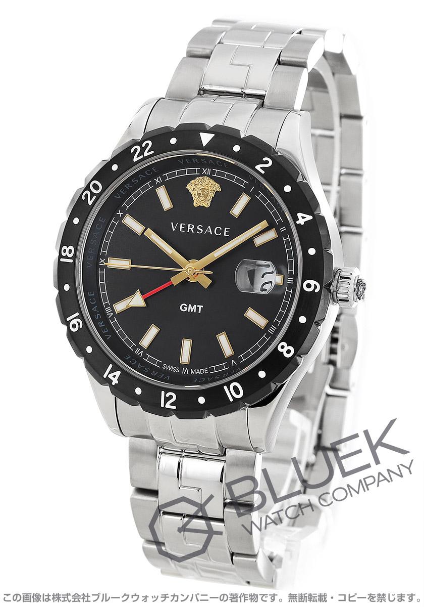 ヴェルサーチ ヘレニウム GMT 腕時計 メンズ VERSACE VE1100219