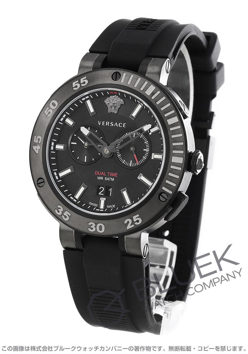 ヴェルサーチ V-エクストリーム プロ デュアルタイム 腕時計 メンズ VERSACE VECN00219