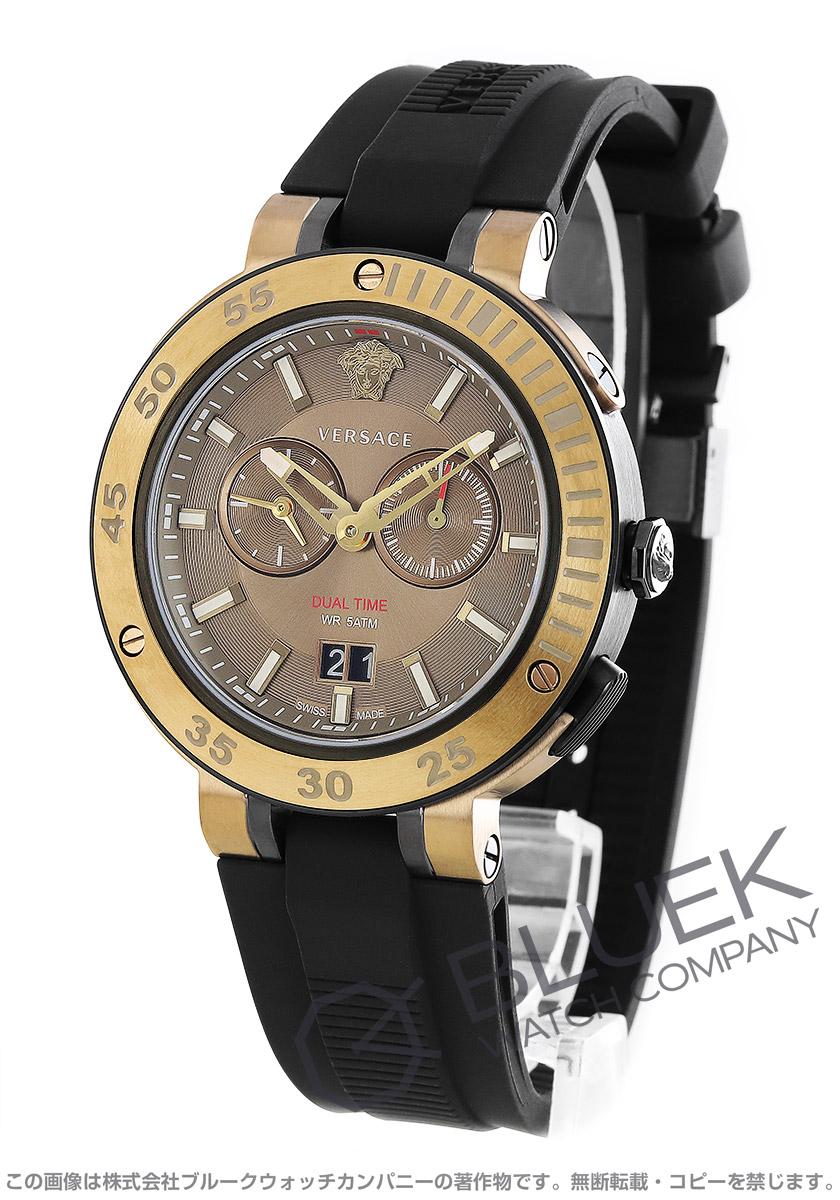 ヴェルサーチ V-エクストリーム プロ デュアルタイム 腕時計 メンズ VERSACE VECN00319