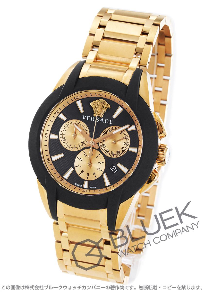 ヴェルサーチェ キャラクター クロノ クロノグラフ 腕時計 メンズ VERSACE VEM800318