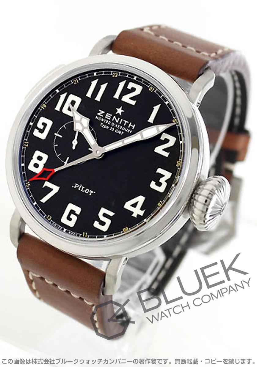 【15,000円OFFクーポン対象】ゼニス パイロット アエロネフ タイプ20 GMT 腕時計 メンズ Zenith 03.2430.693/21.C723