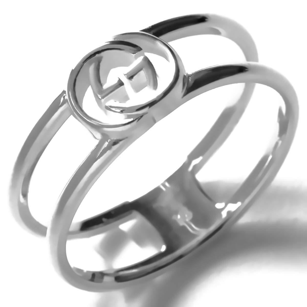 グッチ リング【指輪】 アクセサリー メンズ レディース インターロッキングG シルバー 298036 J8400 8106 GUCCI