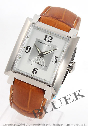 Hamilton Trent Leather Brown / silver mens H30411555