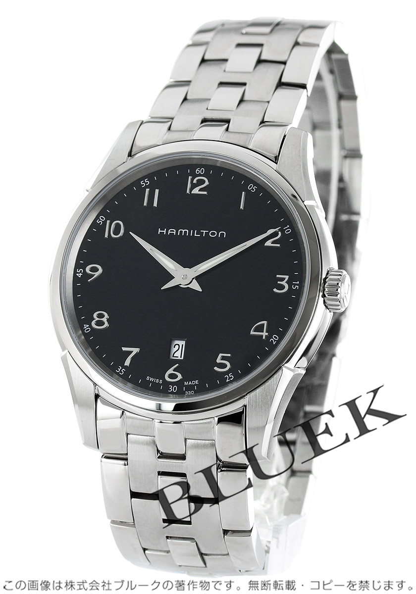 Hamilton jazzmaster Thinline black mens H38511133