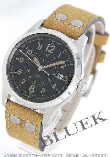 Rakuten Japan sale ★ Hamilton Khaki field auto nubuck leather brown / black men's H70595593