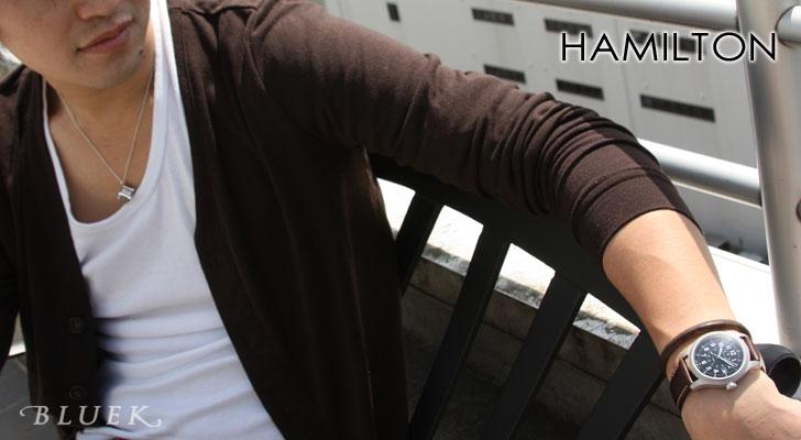 Hamilton HAMILTON khaki officer mens H69519533