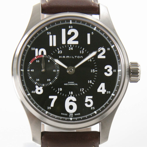 Hamilton Khaki Mechanical Officer H69619533