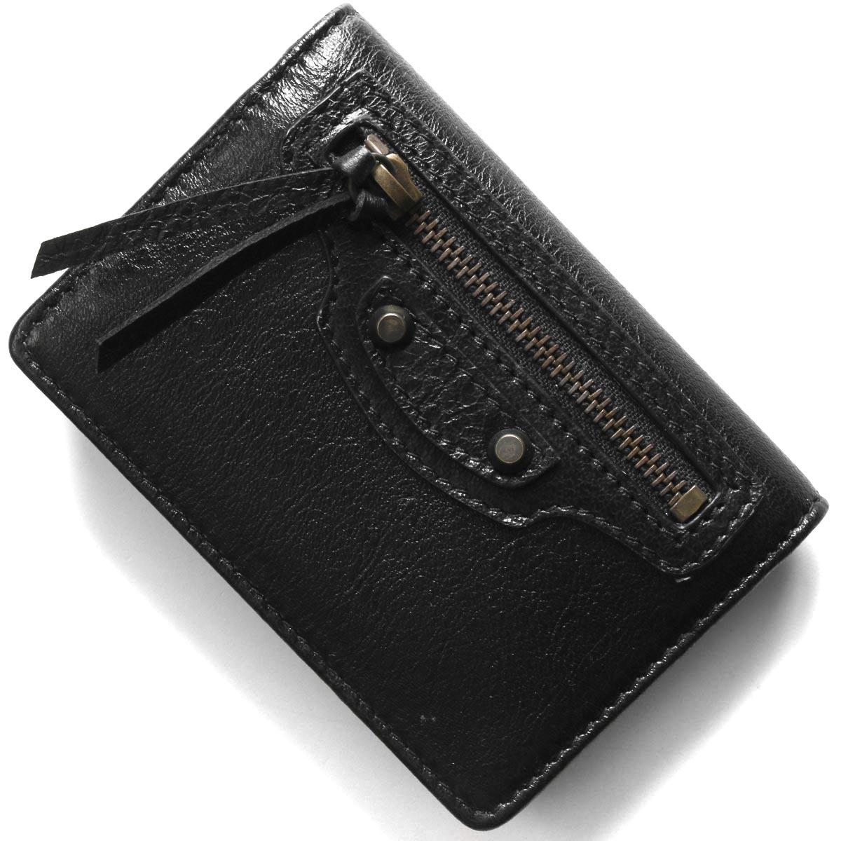 バレンシアガ カードケース/名刺入れ メンズ レディース ブラック 477453 D940T 1000 BALENCIAGA