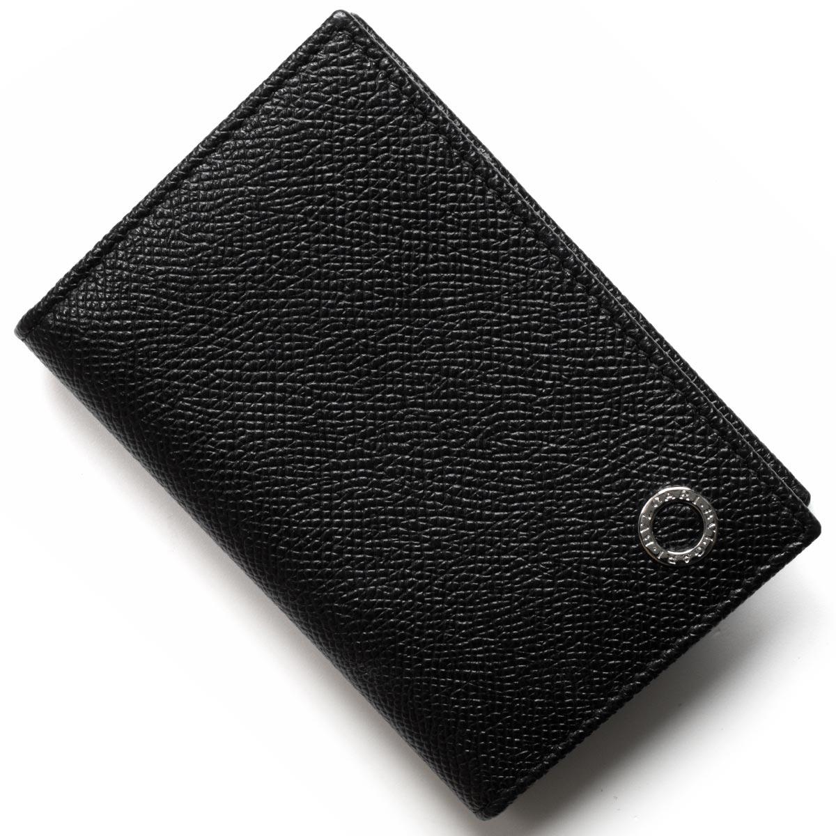 ブルガリ カードケース/クレジットカードケース メンズ ブルガリブルガリ マン ブラック 280292 BVLGARI