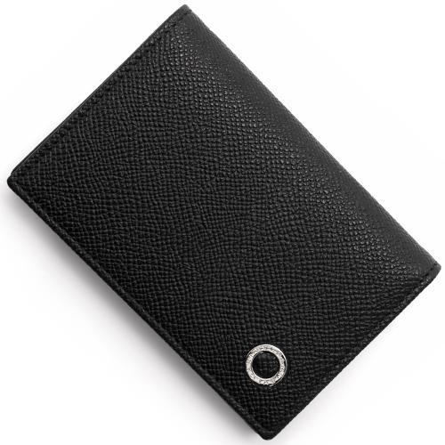 ブルガリ カードケース メンズ ブルガリブルガリ マン 【BB MAN】 ブラック 30400 BVLGARI
