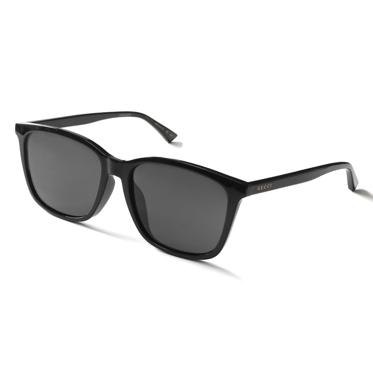 グッチ サングラス メンズ レディース ブラック&グレー GG0404SA 001 ASI 30006062001 GUCCI