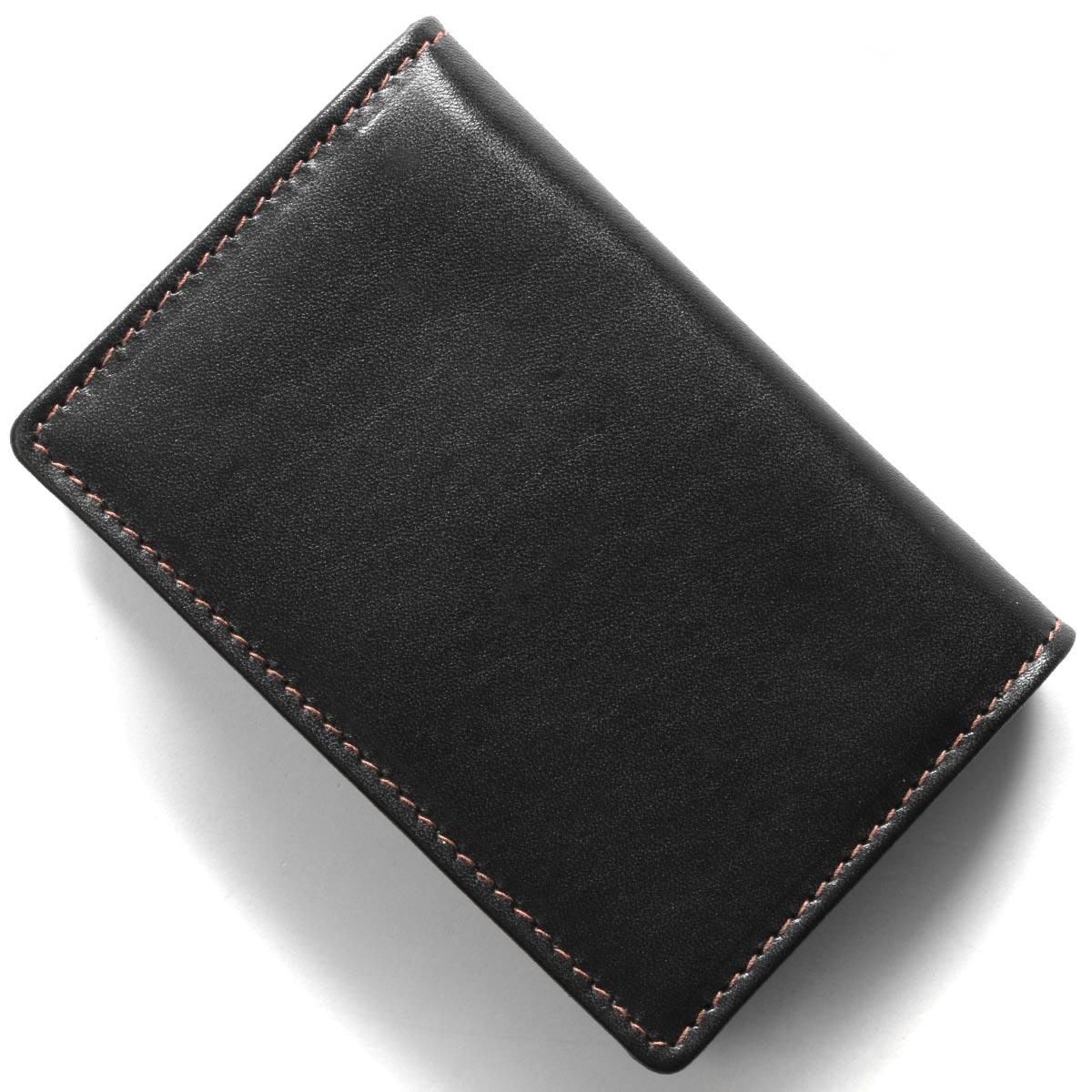 全国送料無料 ホワイトハウスコックス 名刺入れ カードケース メンズ ブラックキャメロブラウン COX CAMELLO 正規激安 S2380 新色追加して再販 WHITEHOUSE BLACK
