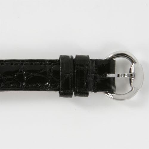 Gucci YA116 della Signoria alligator leather black / blue shell Womens YA116503