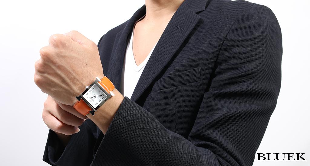 bluek rakuten global market hermes hermes h watch mens hermes hermes h watch mens 736834ww77 watch clock
