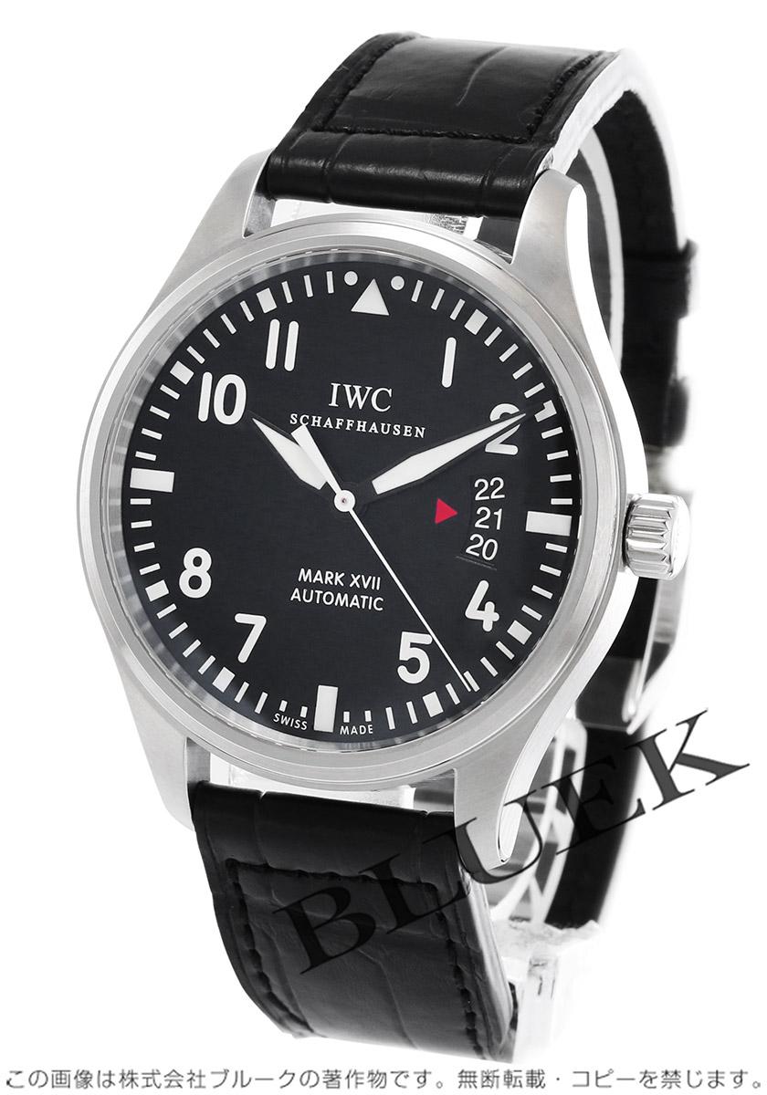 IWC International Watch Company pilot mark XVII alligator leather mens IW326501
