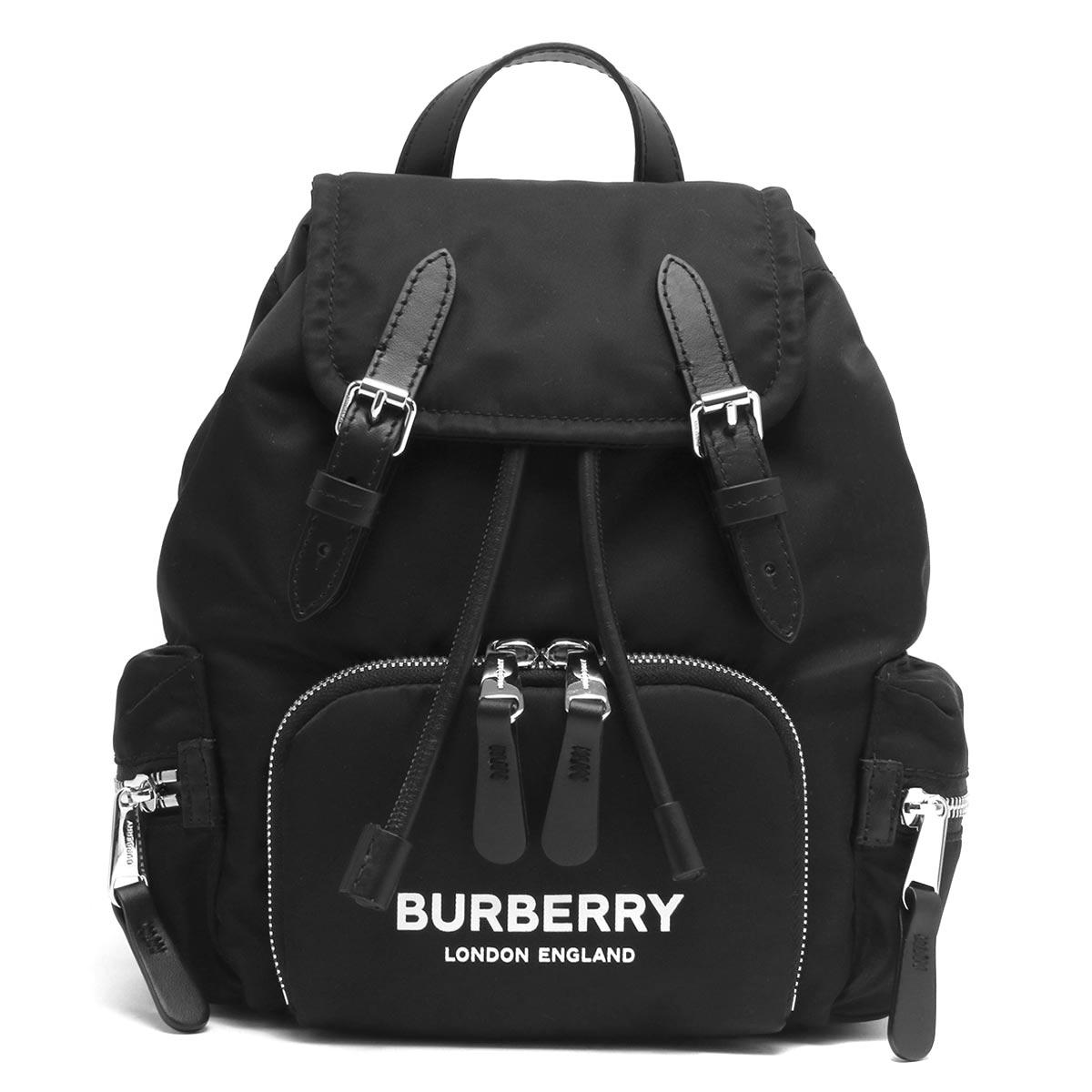 バーバリー リュックサック/バックパック バッグ レディース スモール ブラック LL SM RUCKSACK N NB2 117221 A1189 8021258 BURBERRY