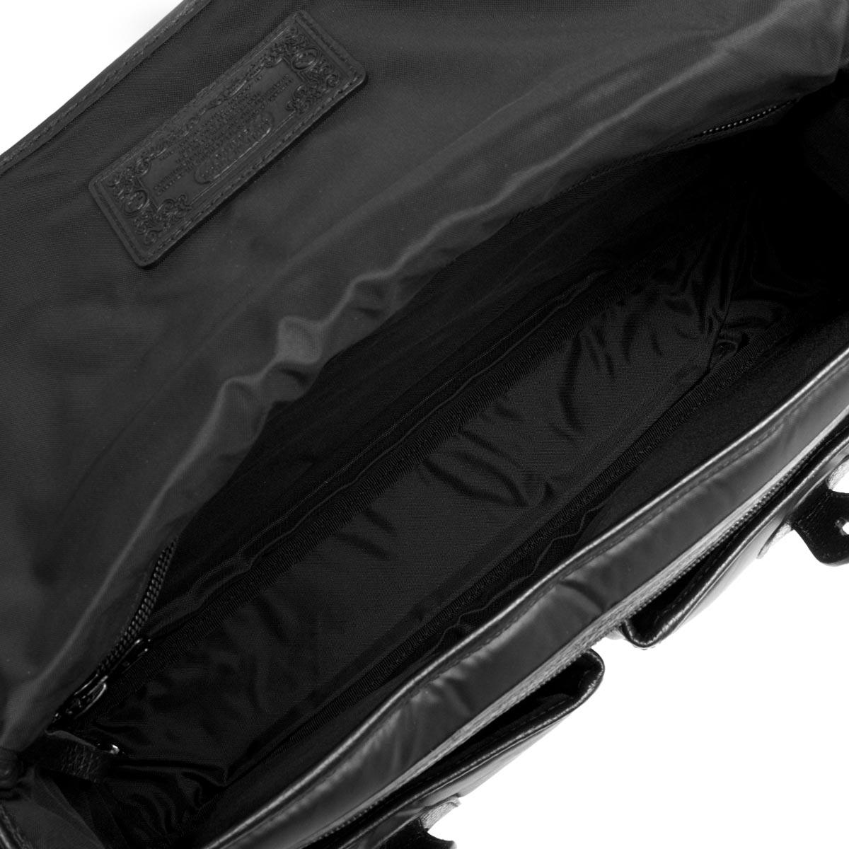 ハンティングワールド ショルダーバッグ バッグ メンズ BATTUE ORIGIN ブラック 6625 13A HUNTING WORLD