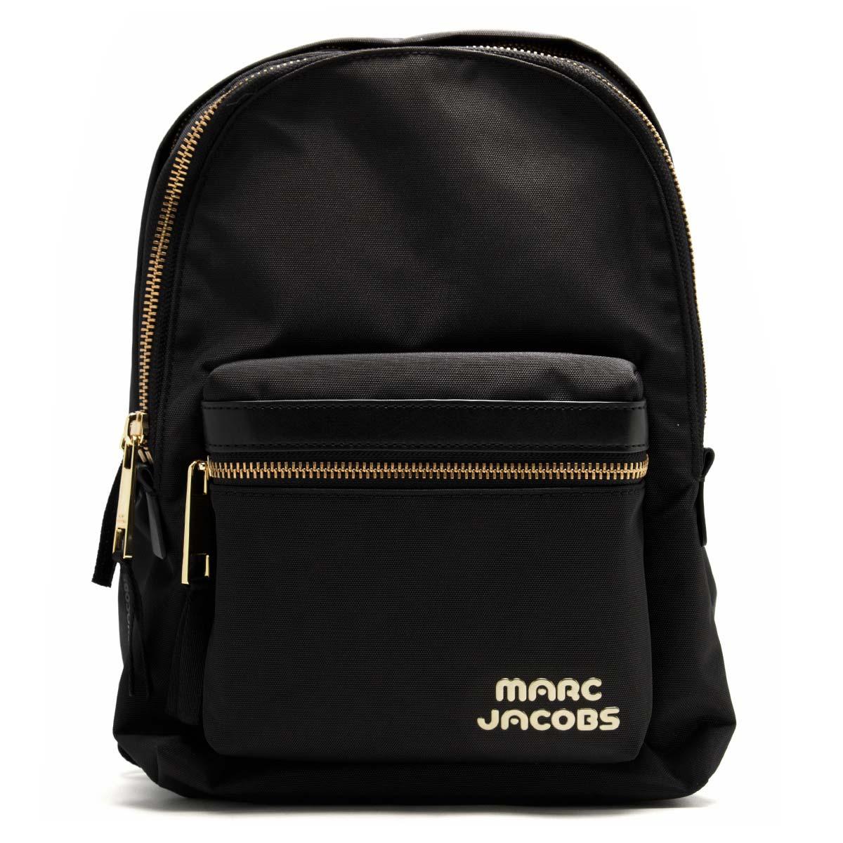マークジェイコブス リュックサック/バックパック バッグ レディース トレック パック ミディアム ブラック M0014031 001 1SZ 2018年秋冬新作 MARC JACOBS