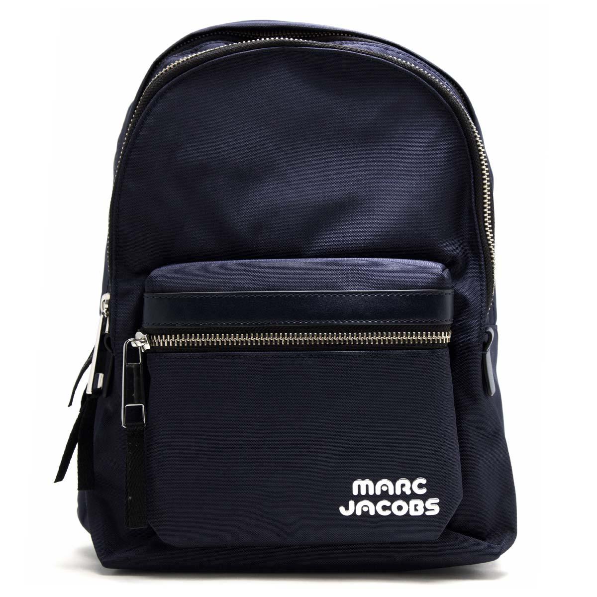マークジェイコブス リュックサック/バックパック バッグ レディース トレック パック ミディアム ミッドナイトブルー M0014031 415 1SZ MARC JACOBS