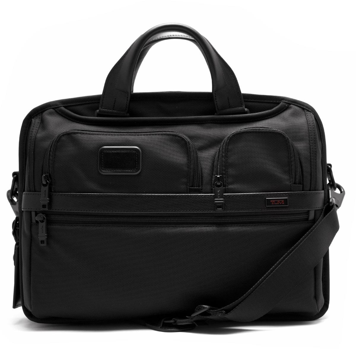 トゥミ ビジネスバッグ/ショルダーバッグ バッグ メンズ アルファ 2 ミディアム・スクリーン T PASS ブラック 26516 D2 TUMI