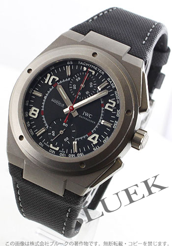 IWC Ingenieur men's IW372504 watch clock